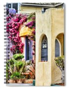 Colored Cottages By Diana Sainz Spiral Notebook