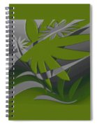 Colored Jungle Green Spiral Notebook