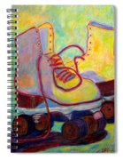 Colored Lights All Over My Skates Spiral Notebook