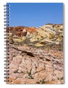 Colored  Stone Spiral Notebook