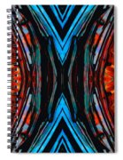 Colorful Abstract Art - Expanding Energy - By Sharon Cummings Spiral Notebook
