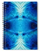 Colorful Abstract Art Pattern - Color Wheels - By Sharon Cummings Spiral Notebook