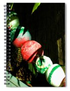 Colorful Accents In Florida Gardens Spiral Notebook