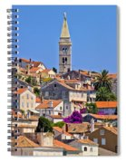 Colorful Adriatic Town Of Losinj Spiral Notebook