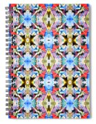 Colorful Angles Pattern Spiral Notebook