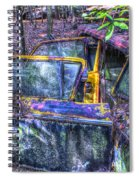 Colorful Antique Car 1 Spiral Notebook