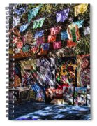 Colorful Art Store In Mexico Spiral Notebook