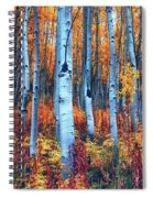 Colorful Aspens Spiral Notebook