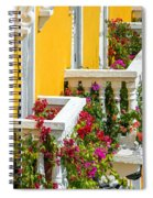 Colorful Balconies Spiral Notebook