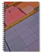 Colorful Bars Soap On Market In Provence Spiral Notebook