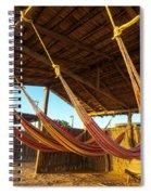 Colorful Beach Hammocks Spiral Notebook
