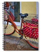 Colorful Bike Spiral Notebook