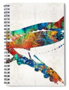 Colorful Bird Art - Sweet Song - By Sharon Cummings Spiral Notebook