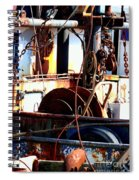 Colorful Boat Spiral Notebook
