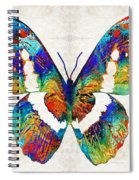 Colorful Butterfly Art By Sharon Cummings Spiral Notebook