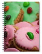 Colorful Candy Faces Spiral Notebook