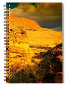 Colorful Capital Reef Spiral Notebook