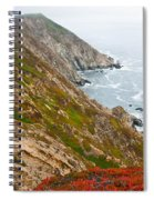 Colorful Cliffs At Point Reyes Spiral Notebook