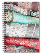 Colorful Cloths Spiral Notebook