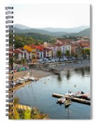 Colorful Collioure Spiral Notebook