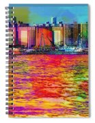 Colorful Coney Island Spiral Notebook