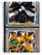 Colorful Contortion Spiral Notebook