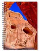 Colorful Corona Rocks Spiral Notebook