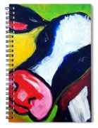 Colorful Cow Spiral Notebook