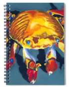 Colorful Crab Spiral Notebook