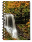 Colorful Dry Falls Spiral Notebook