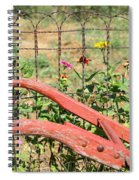 Colorful Fence Row Spiral Notebook