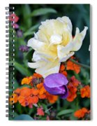 Colorful Flowers Spiral Notebook