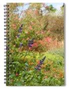 Colorful Garden In Spring Spiral Notebook