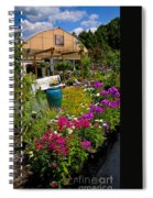 Colorful Greenhouse Spiral Notebook