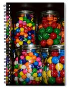 Colorful Gumballs Spiral Notebook