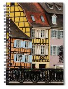 Colorful Homes Of La Petite Venise In Colmar France Spiral Notebook