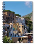 Colorful Houses In Capri Spiral Notebook