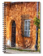 Colorful Houses In Warsaw Spiral Notebook