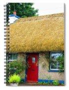 Colorful Irish Cottage Spiral Notebook