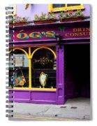 Colorful Irish Pub Spiral Notebook