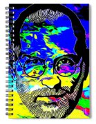 Colorful Jobs Spiral Notebook