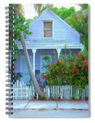 Colorful Key West Cottage Spiral Notebook