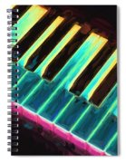 Colorful Keys Spiral Notebook