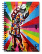 Colorful Kiss Spiral Notebook