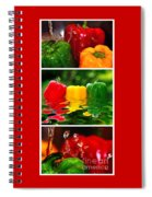 Colorful Kitchen Collage Spiral Notebook