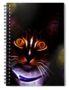 Colorful Kitty Spiral Notebook