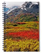 Colorful Land - Alaska Spiral Notebook