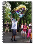 Colorful Large Bubbles Spiral Notebook