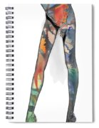 Colorful Legs Spiral Notebook