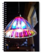 Colorful Light  Spiral Notebook